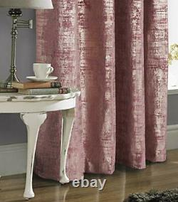100% Blackout Window Curtains for Bedroom Living 5295 (Gold Print) Wild Rose
