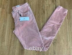 AG Adriano Goldschmied Women's The Legging Skinny in Rose Gold Size 27 NEW