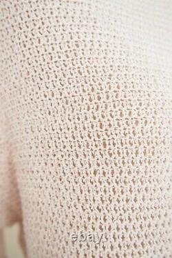 MINT VELVET Rose Gold Cuffed Sleeve Knit Sweater Sz 16 BRAND NEW WITHOUT TAGS