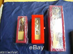 MOTHER'S DAY GIFT 24K Gold Dipped Real Rose Various Sizes HANDCRAFTED BOX NEW