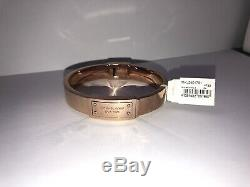 Michael Kors. Rose Gold Bangle. New With Tag, Velvet Bag And Box. Push Clasp