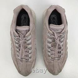 Nike Air Max 95 LX Velvet Rose Pink Particle Gold Suede AA1103 600 Womens 11 43