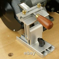 O'skool Adjustable Replacement Tool Rest Sharpening Jig for 6 inch or 8 inch and