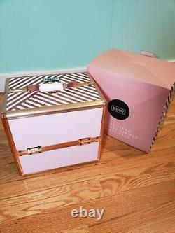 Rose Gold Beauty Makeup Accessory Holder Caddy