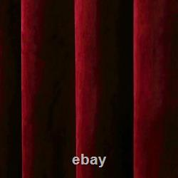 Rose Home Fashion Velvet Curtains for Living Room Soft Luxury Thermal Insulate